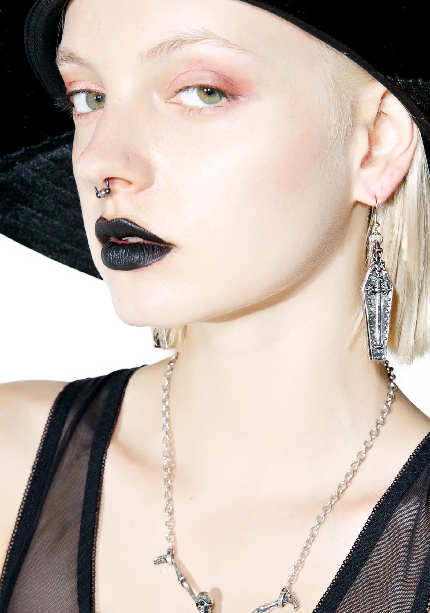 Coffin Earrings