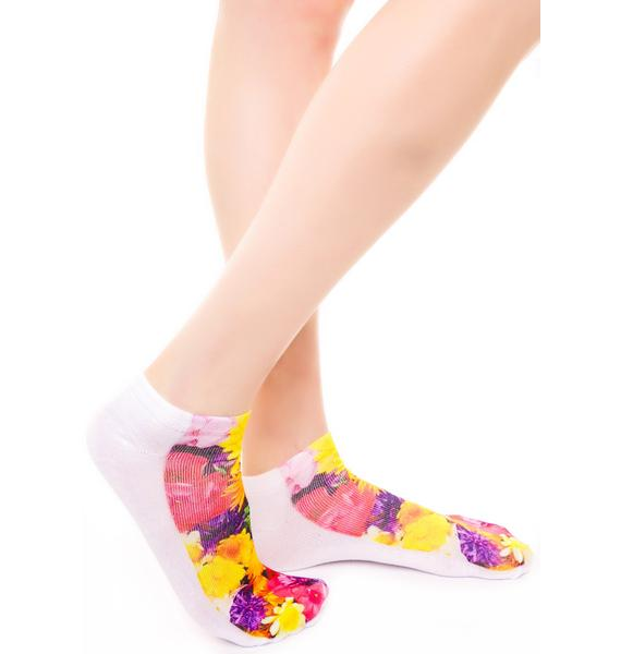 Garden Party Ankle Socks