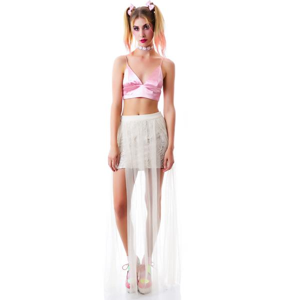 Midsummer Dream Lace Skirt
