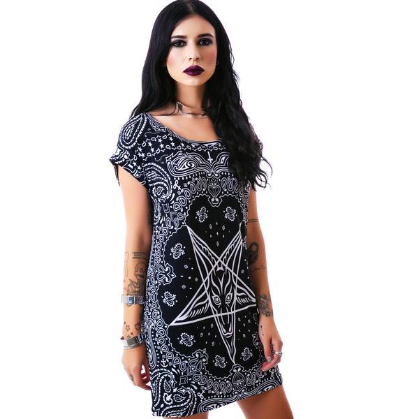 Killstar Bandana Tunic Dress