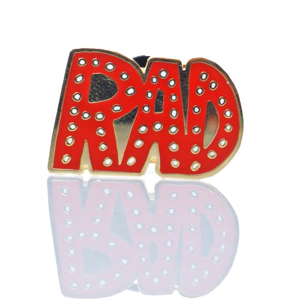 So Rad Enamel Pin