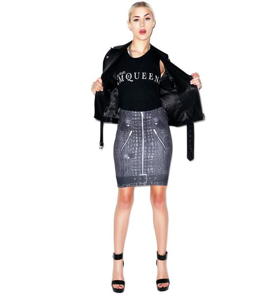 Evil Twin Cold Blooded Tube Skirt