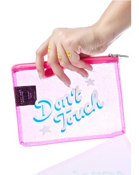 Don't Touch Glitter Case