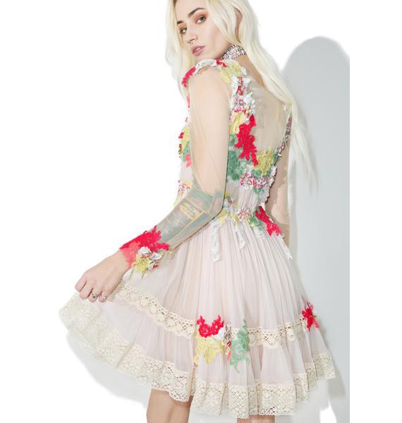 Dolly Bae Dew Drop Floral Dress