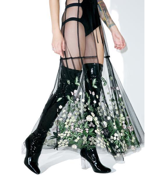 Dryad Queen Maxi Skirt