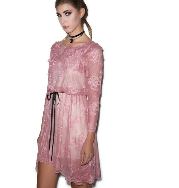 Dolly Bae Together or Alone Lace Dress