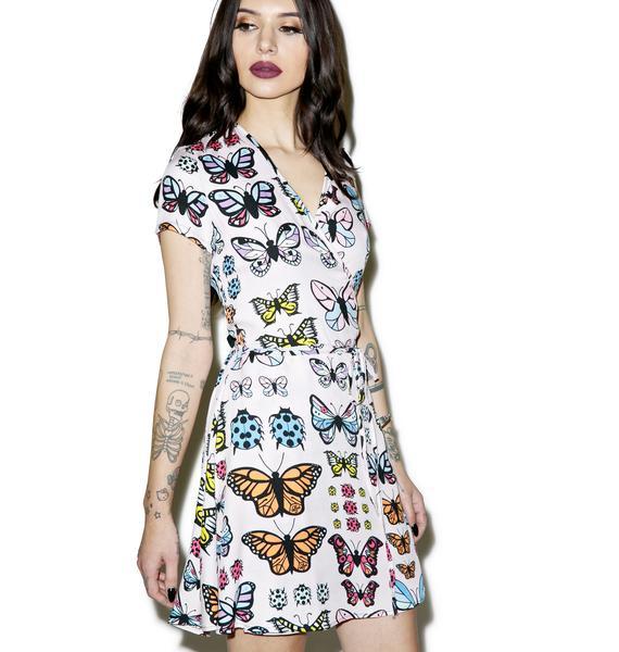Valfré Flutter Wrap Dress