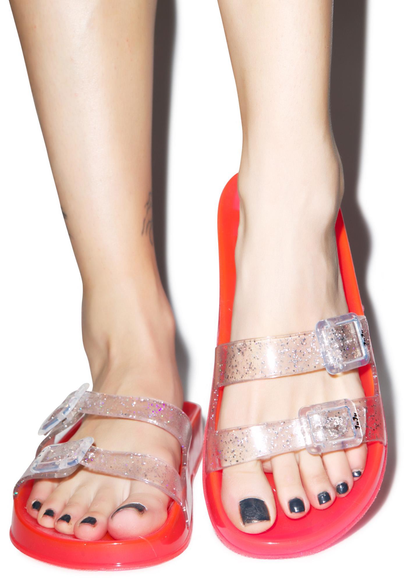 Juju Shoes Jelly Shotz Slip On Sandal