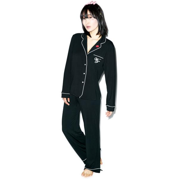 Wildfox Couture Love Is Everything Classic Pajama Set