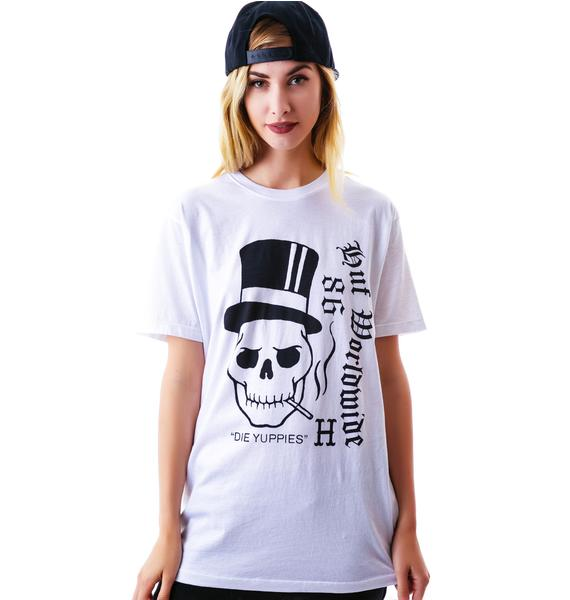 HUF Yuppie Death Tee