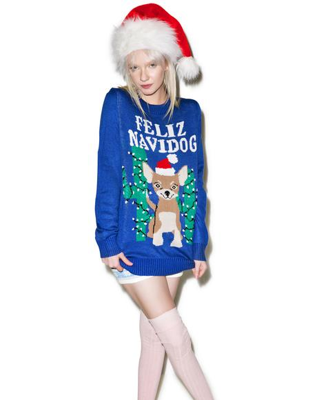 Feliz Navidog Sweater
