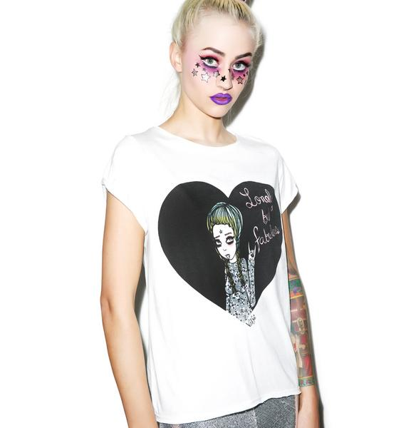 Valfré Lonely But Fabulous Crew Tee