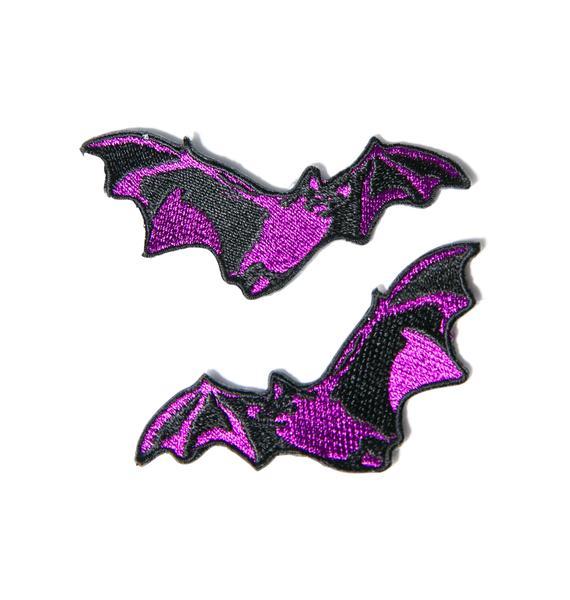 Double Trouble Bat Patch Set