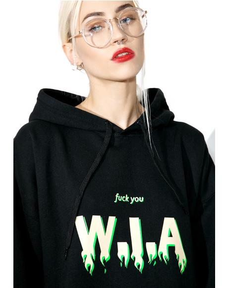 On Fire Oversize Hoodie