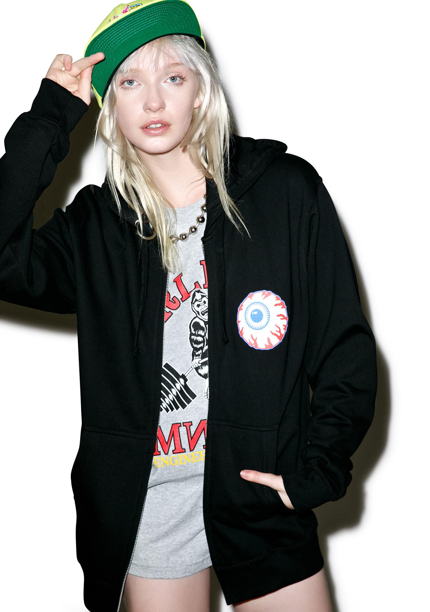 Mishka Heritage Keep Watch Zip Up Hoodie