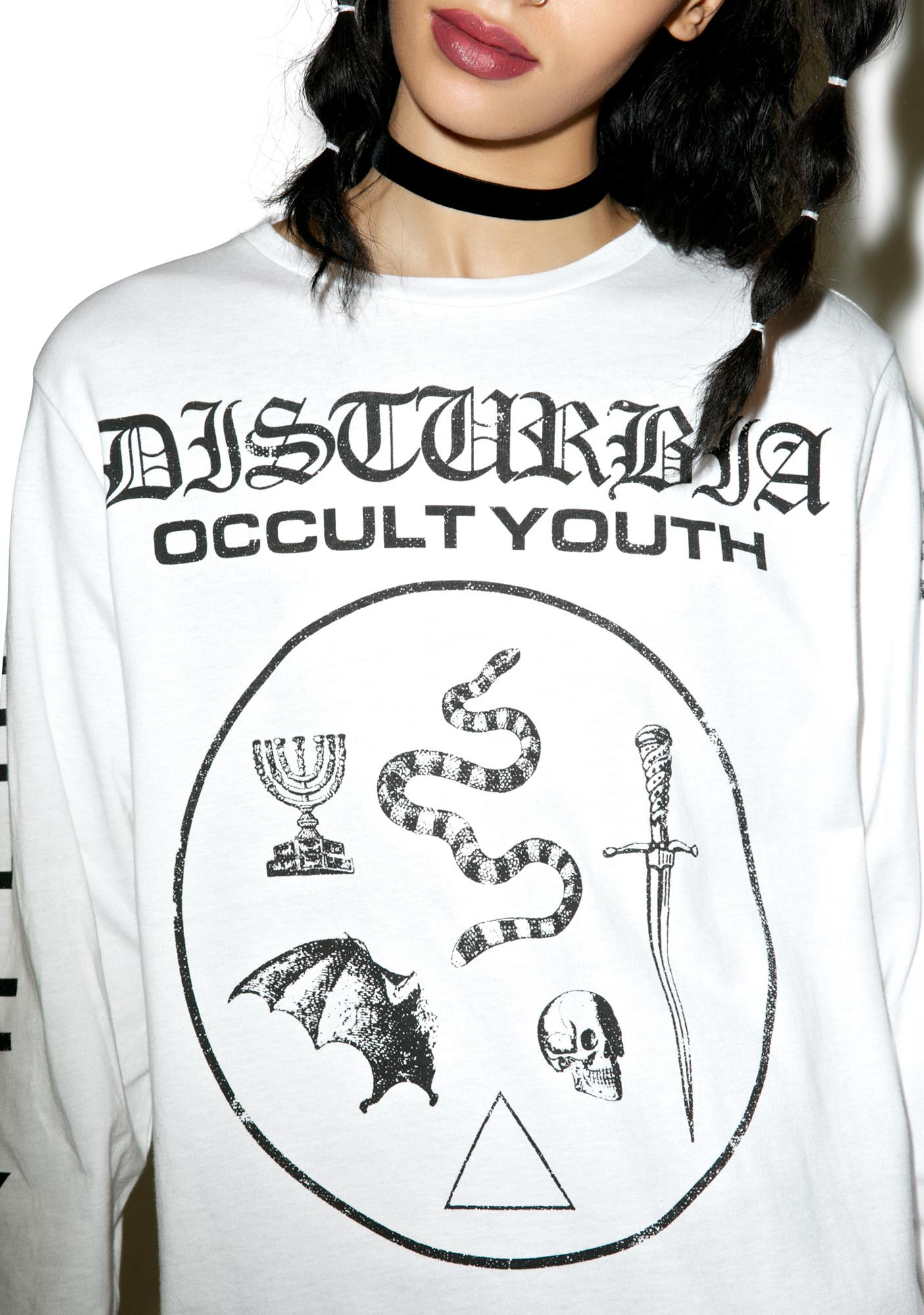 Disturbia Occult Youth Longsleeve Tee