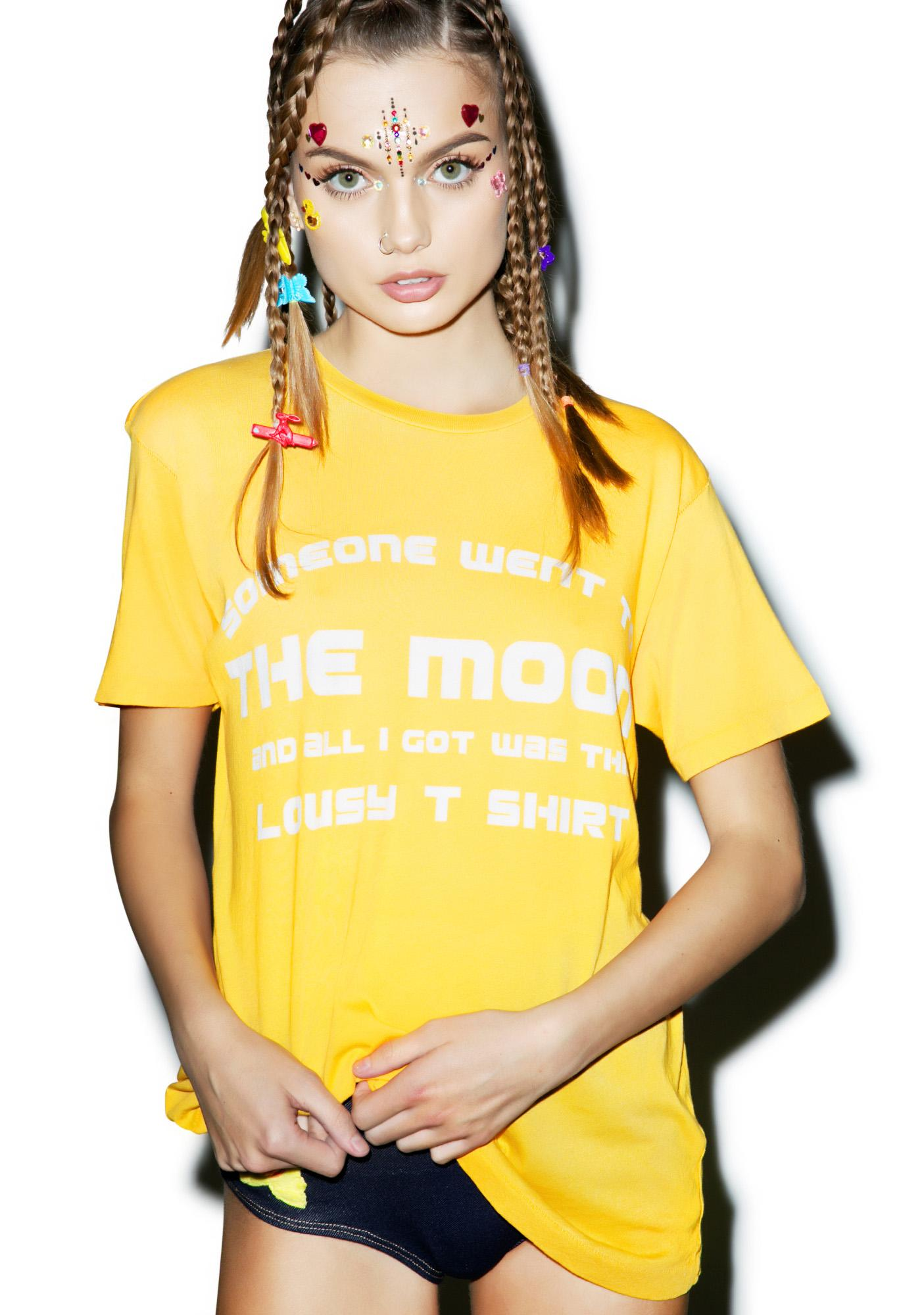Wildfox Couture Lousy Moon Vintage Tee