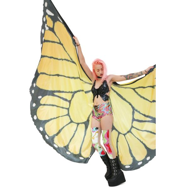 The Monarch Butterfly Wing Cape