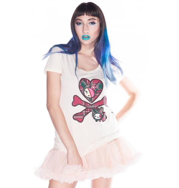 Tokidoki Seeing Plaid Tee