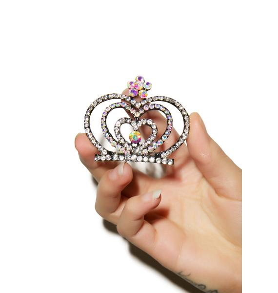 Glistining Hearts Tiara