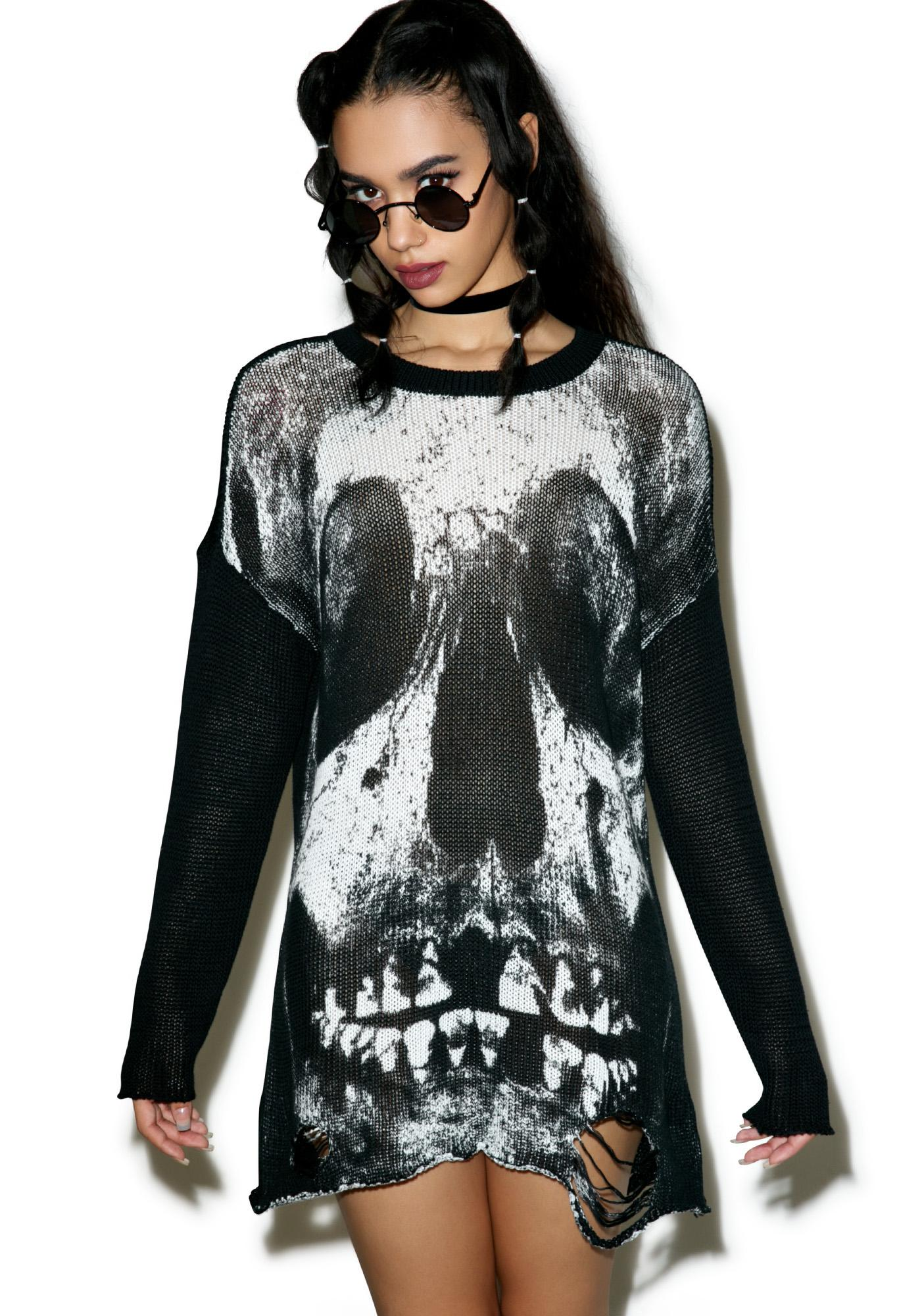 Iron Fist Loose Tooth Torn Sweater