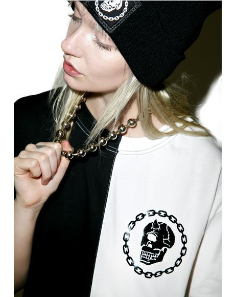 x Mishka Chain Two Tone Tee