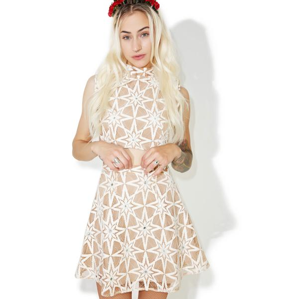 For Love & Lemons Metz Mini Skirt