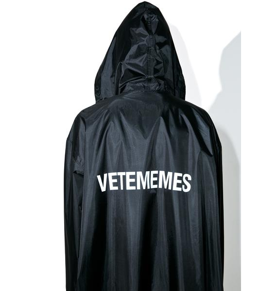 Vetememes Vetememes Raincoat 2.0