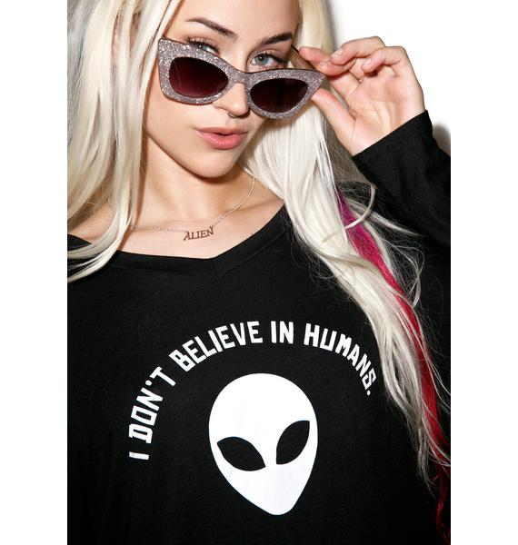 I Don't Believe In Humans Sweater