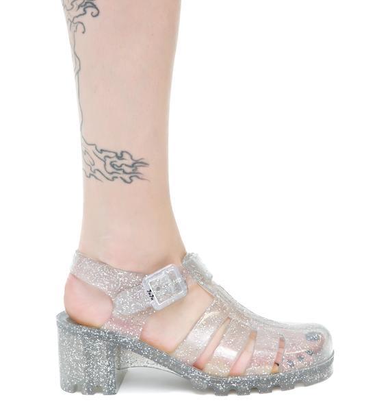Juju Shoes Glitter Babe Jelly
