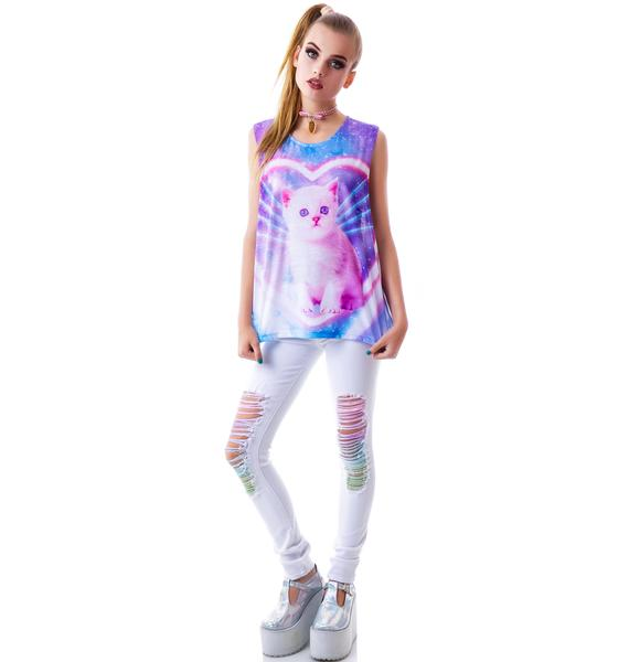Japan L.A. Funky Catsterz Muscle Tee
