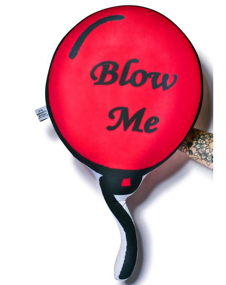 Blow Me Balloon Pillow