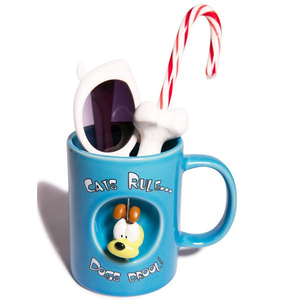 Cats Rule & Dogs Drool Mug