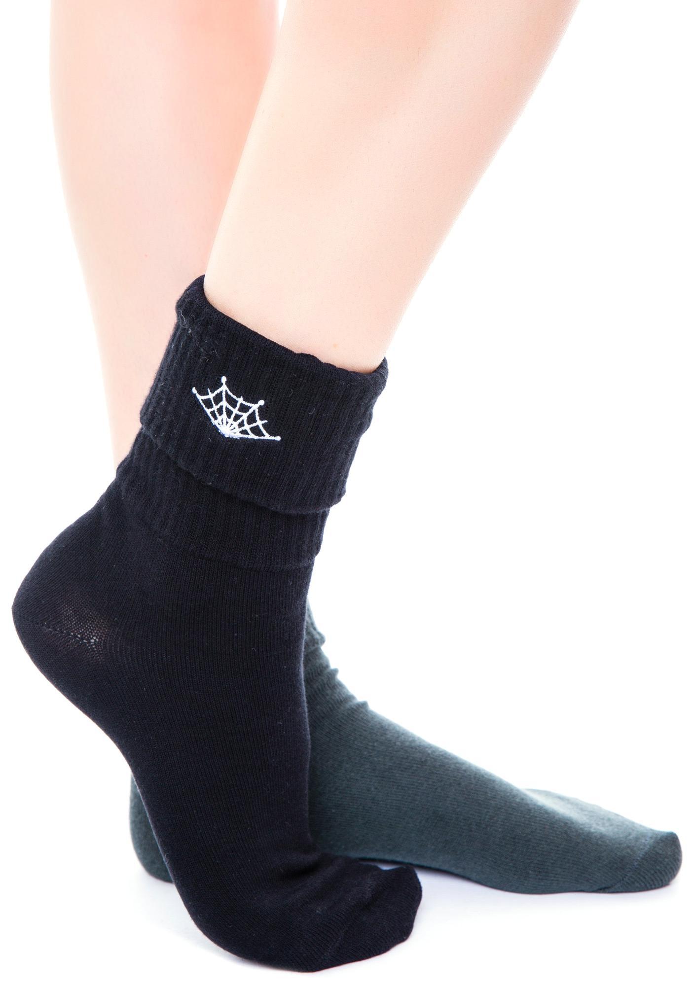 Sourpuss Clothing Web Socks Set