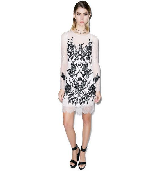 For Love & Lemons Lacey Dreams Mini Dress