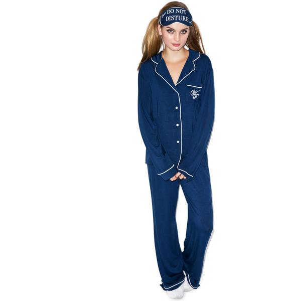 Wildfox Couture Do Not Disturb Classic PJ Set