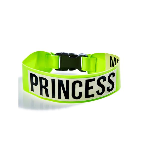 Meat Clothing Princess Choker