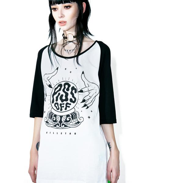 Killstar Fortune Raglan Top