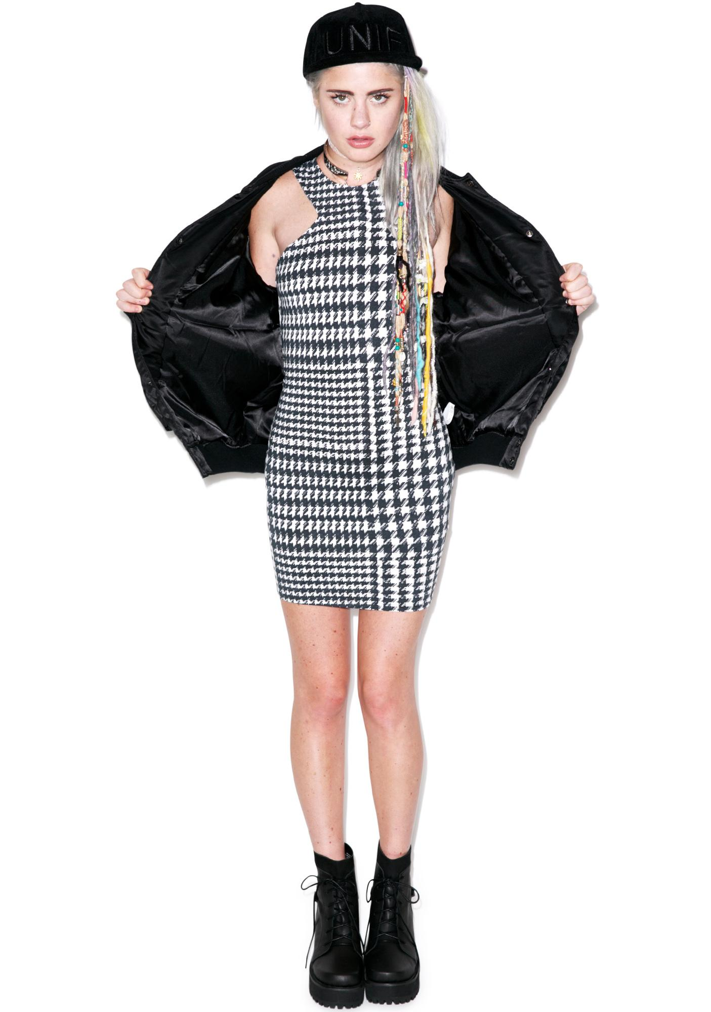 Motel Tye Bodycon Dress