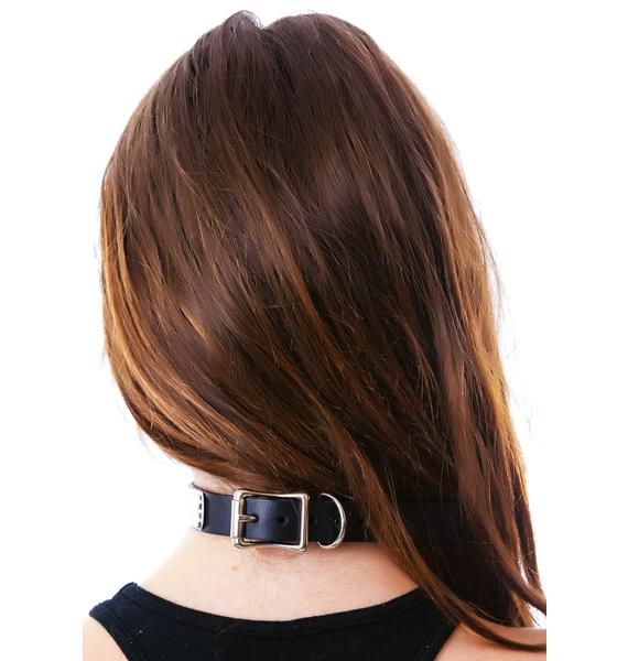 Club Exx Terminator Metal Plated Choker