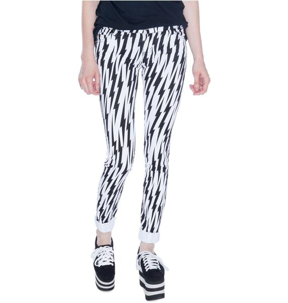 Tripp NYC Electric Lightning Bolt Jeans