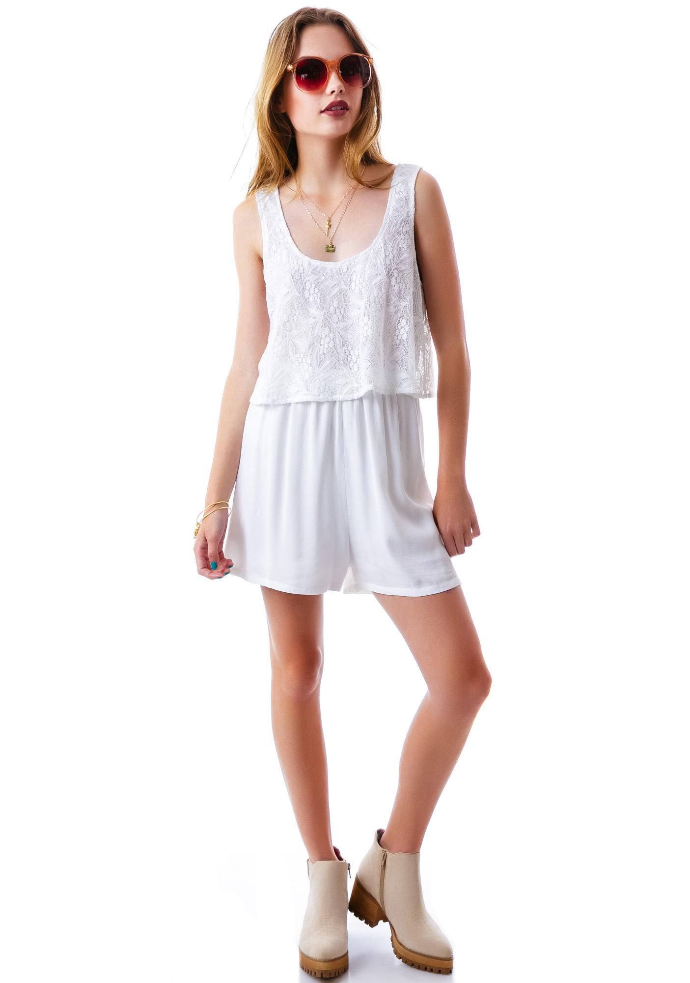 Loner Lace Romper