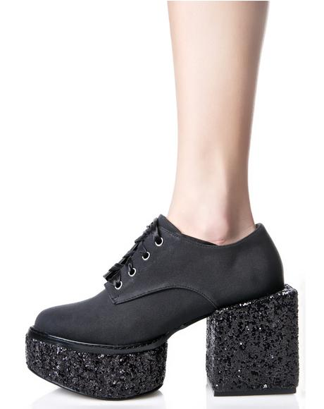 Wednesday Chunky Platforms