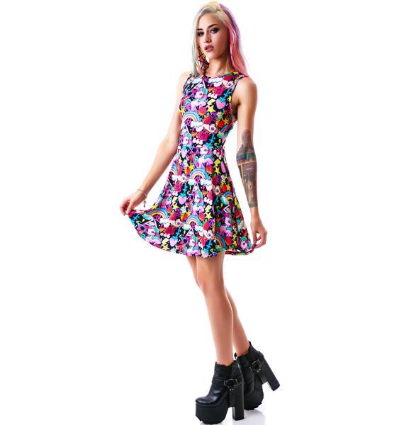 Killstar Kawaii Skater Dress