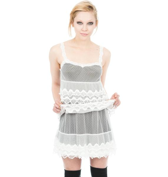 Iron Fist Lace Doll Dress