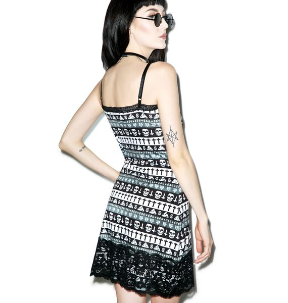 Evil Aztec Curse Bodycon Dress