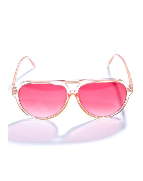 The Peachy Nite Shift Sunglasses