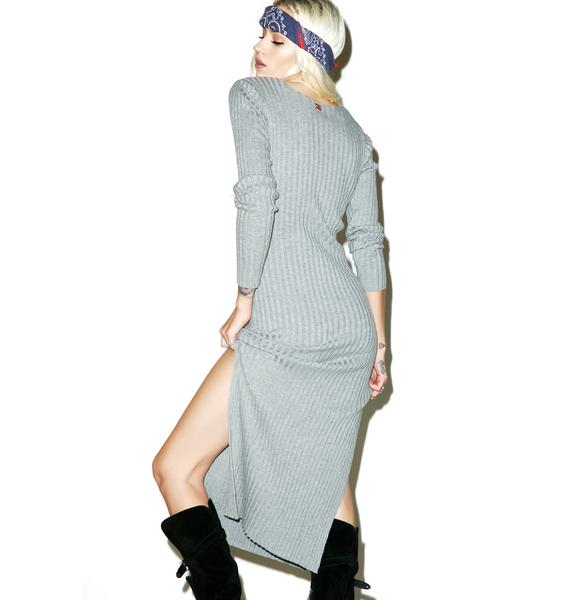 For Love & Lemons Everyday Knit Maxi Dress