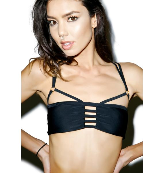 Somedays Lovin Somewhere Strappy Bikini Top