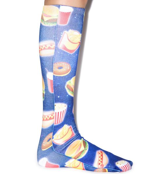Eating Out Knee High Socks